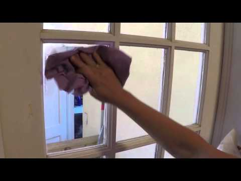 Norwex Cleaning Butter Window Test
