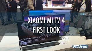 Xiaomi Mi TV 4 first look
