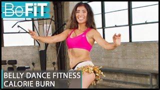 Belly Dance Fitness Calorie Burn Workout: Leilah Isaac