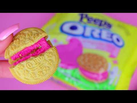 NEW PEEPS OREO COOKIES Taste Test + Review