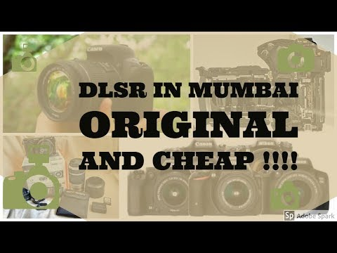 DSLRs Camera In CHEAP ! | BORA BAZAR | MUMBAI | fort price