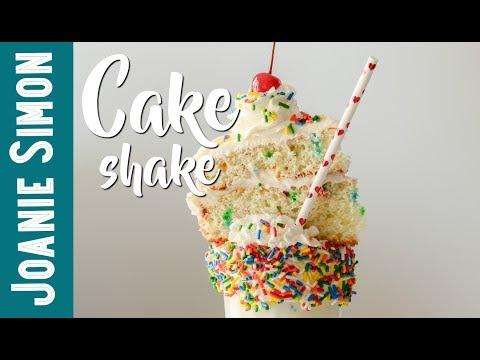 Make your own CAKE SHAKE