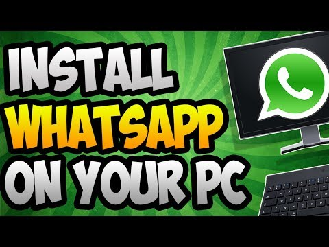 How to Use Whatsapp on your PC Computer | Windows(7/8/10) | Mac | 2017