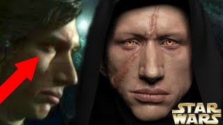 Star Wars The Last Jedi – Kylo Ren's Sith Eyes Explained