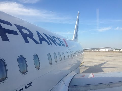 Air France A318   Paris (CDG) - Venice (VCE)   Economy   Flight trip report