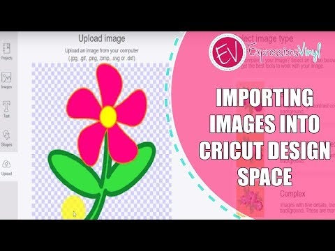 Importing Images into Cricut Design Space