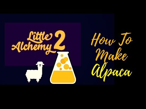 Little Alchemy 2-How To Make Alpaca Cheats & Hints