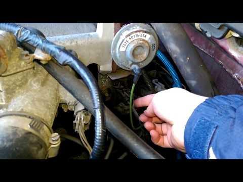 F150 EGR valve quick test