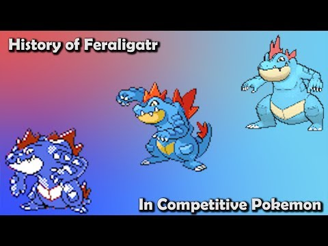 How GOOD was Feraligatr ACTUALLY? - History of Feraligatr in Competitive Pokemon (Gens 2-6)