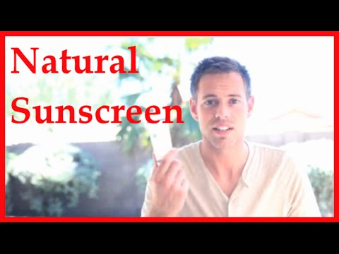 Natural Sunscreen Review - Ingredients Are Important