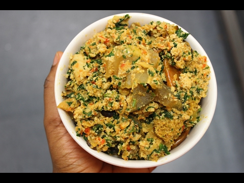 How to make oil less egusi soup
