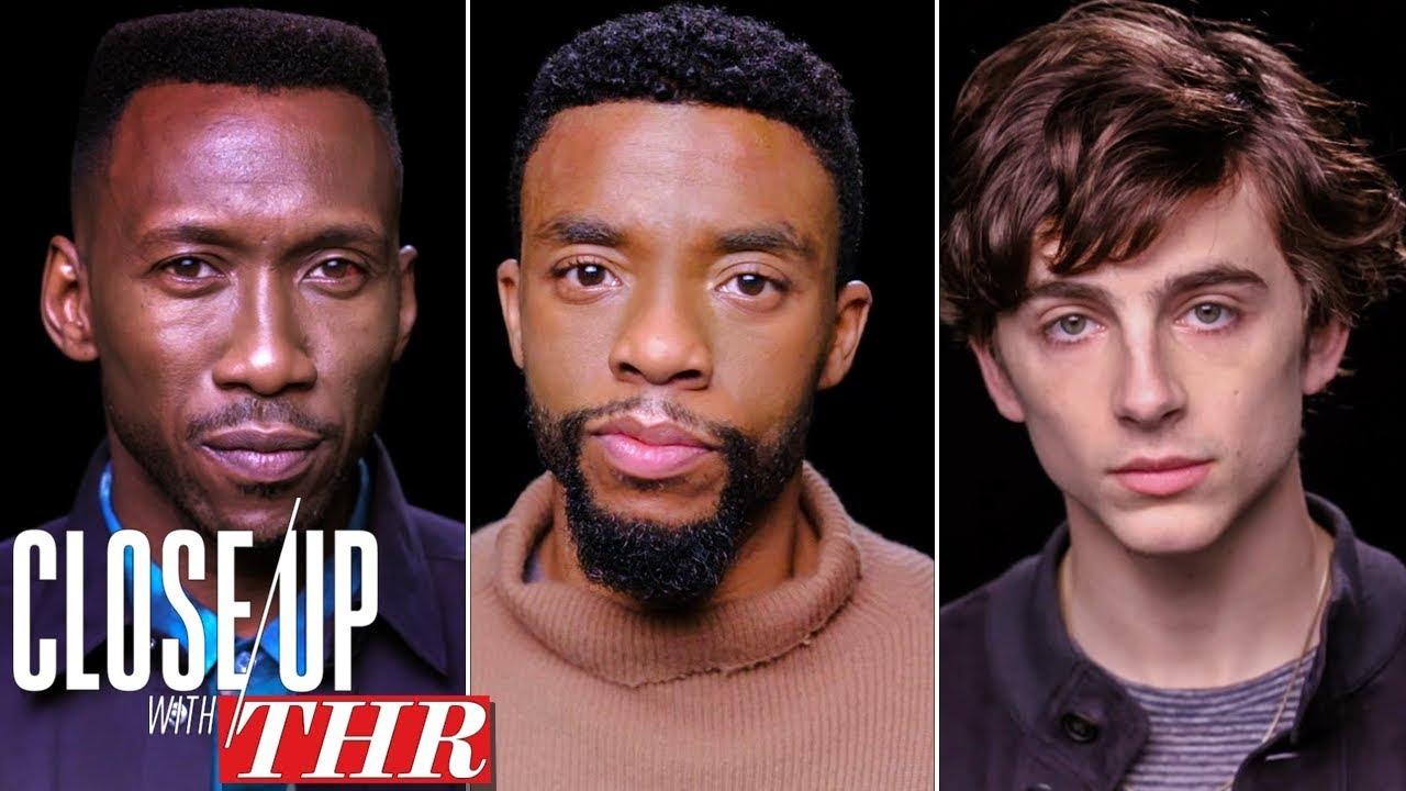 Actors Roundtable: Chadwick Boseman, Timothée Chalamet, Mahershala Ali, Viggo Mortensen   Close Up