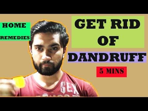 Remove dandruff at home naturally  | Get rid of dandruff in hindi
