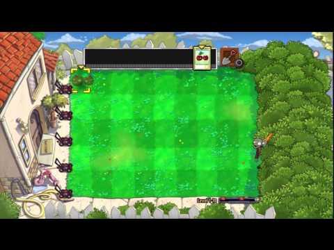 Let's Play Plants Vs. Zombies (PS3) - 4 - Conveyor Belt