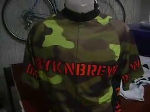 Camo Bike Jersey by Bikingthings, Cycling Shirts