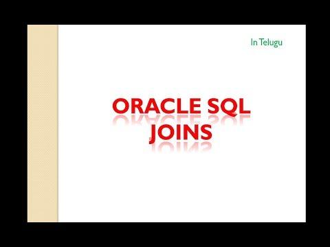 JOINS in Oracle SQL || in Telugu