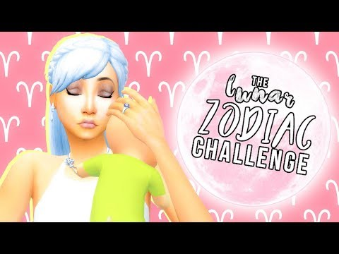 🌙 GIVING UP HER BABY!? // The Lunar Zodiac Challenge // The Sims 4 // #2🌙
