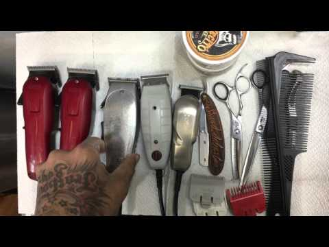 What clippers are needed to cut hair /barber starter kit /celebrity barber clipper set of MrSneed
