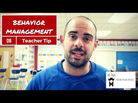 Behavior Management in the Classroom| Teaching Tip