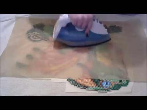 How to iron large perler bead projects