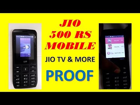 Jio 500 Rs Mobile Proof Jio TV working,  features, Jio apps and Jio offers