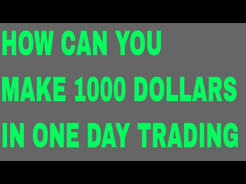 HOW CAN YOU MAKE 1000 DOLLARS IN ONE DAY CRYPTOCURRENCY TRADING ON POLONIEX