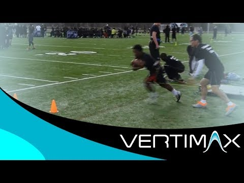 Football Explosive Power and Speed Training with VertiMax