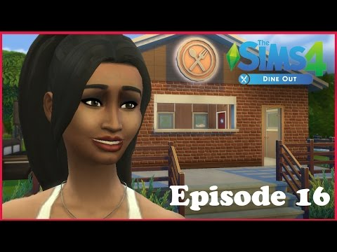 Sims 4 Dine Out! Ep 16: DIY Employee Training