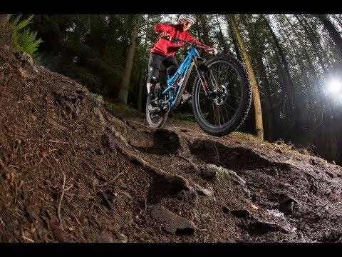 Innerleithen Gold Run Downhill Drop Offs