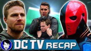 Arrow & Deathstroke vs Prometheus!   Arrow Season 5 Episode 23 Review   DCTV Recap