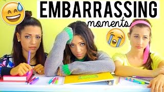 How to Avoid EMBARRASSING Moments at School! Life Hacks for Survival!   Niki and Gabi