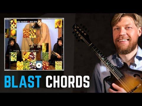 Mandolin Blast Chords from Chris Thile & Mike Marshall - Intro to Begåvningsmarschen - Tutorial