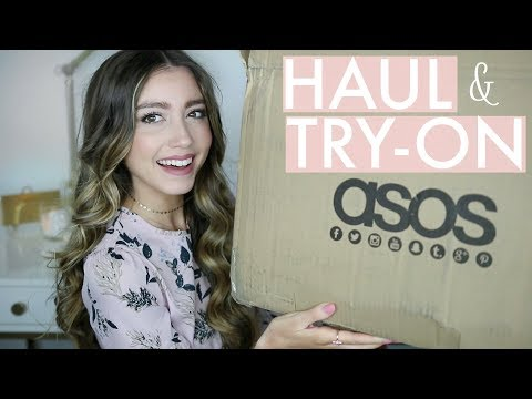 HUGE ASOS HAUL & TRY ON | Affordable Spring Clothing