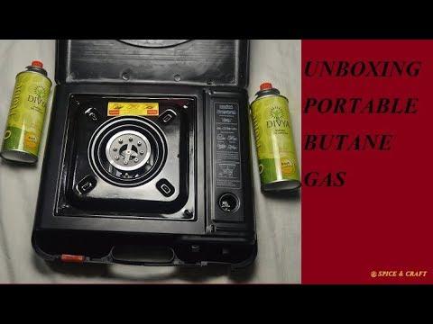 Unboxing Portable Butane Gas Stove