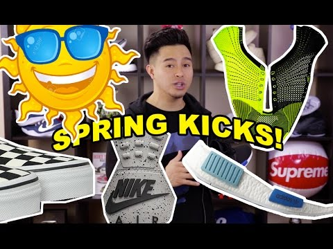 TOP 5 SNEAKERS FOR SPRING