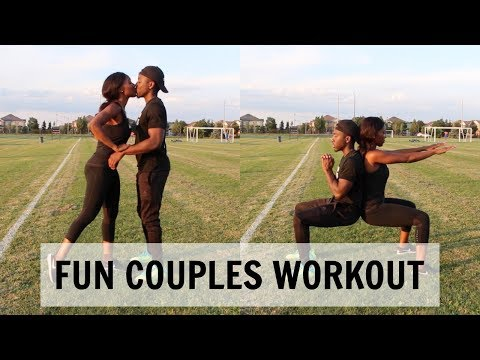 Newly Engaged Couples Workout Routine