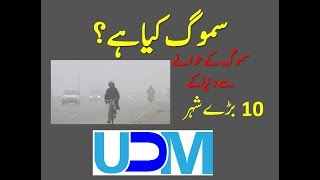 Top 10 Smog cities in urdu || Smog in Lahore || Smog in China || Smog in India
