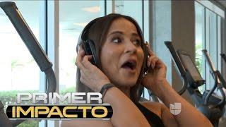 Jackie Guerrido & Michelle Galvan - Primer Impacto - 8/10/2018