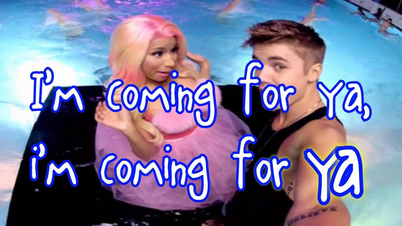 Download Justin Bieber - Beauty And A Beat (ft. Nicki Minaj) - Lyrics Video HD MP3 Gratis