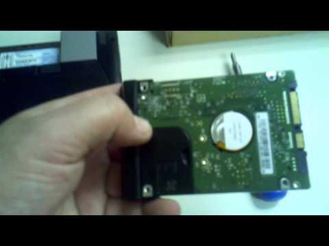 Dell Latitude E6410 replace hard drive.