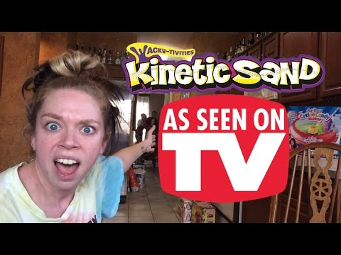 KINETIC SAND - DOES THIS THING REALLY WORK?