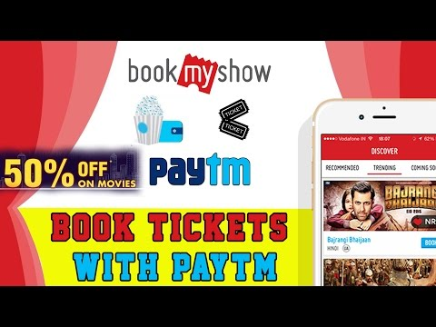 How To Book Movie Ticket Online Using BookMyShow with Paytm & UPI APP
