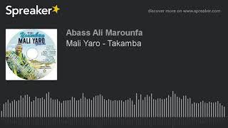 Mali Yaro - Takamba (Nouvel album 2018)