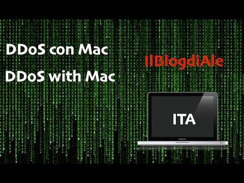 DDoS da Mac: How to DDoS with Mac|IlBlogdiAle