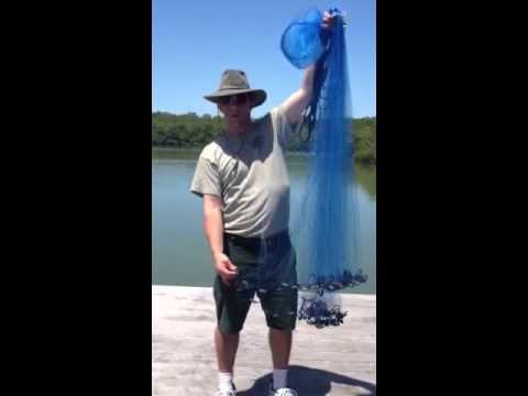 Castnetting part 2 at Delnor-Wiggins Pass State Park