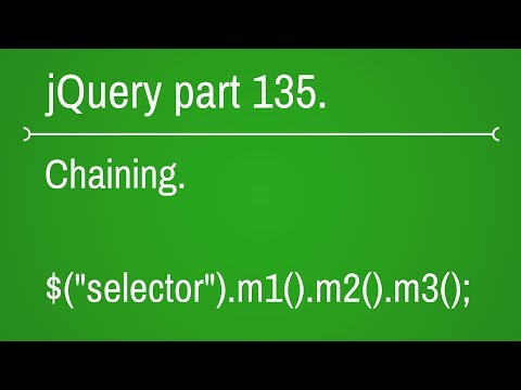 jquery Chaining part - 135