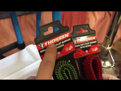 Thorsen Flat Bungie Cord With Hooks Review