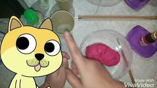 Cara membuat slime supaya tidak melekit