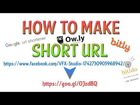 How to make short URL│URL Shortener│4 Links (links in the desc.)