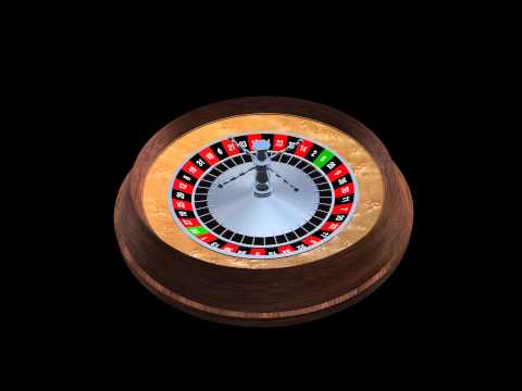 Demo Motion 3D Model: Roulette Wheel